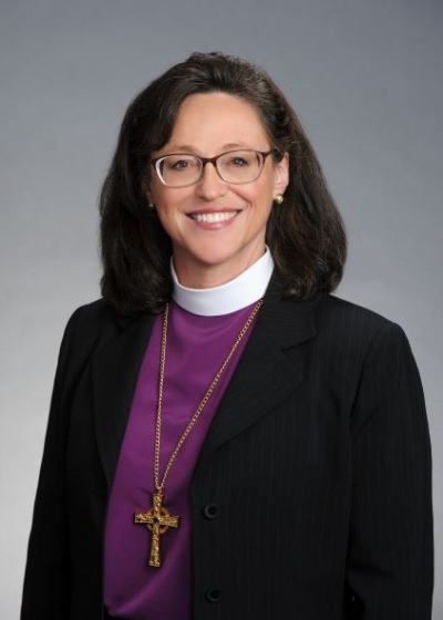 Bishop Megan Traquair